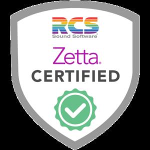 Zetta Certification